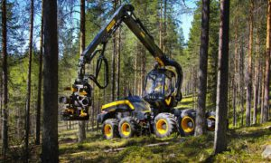 Ponsse, Finland, is nominated for the Swedish Steel prize 2015 - The Scorpion forest harvester