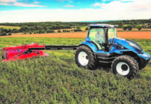 Trattore New Holland a biometano
