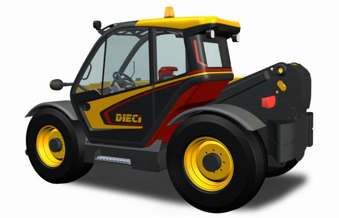 Una nuova cabina di design per dieci macchine agricole for Riparazione della cabina di log