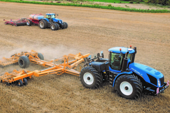 New Holland T8 e T9